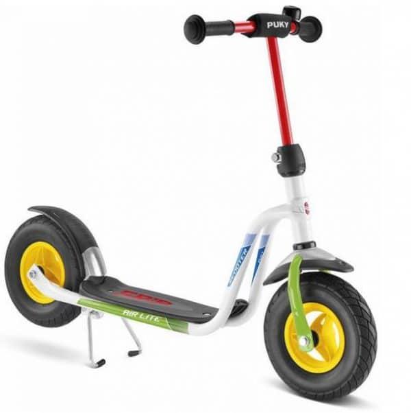 Roller Puky R 03 L Weiß Kiwi
