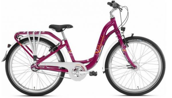 Kinderfahrrad Puky Skyride 24-3 Alu light berry